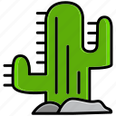adventure, cactus, cowboy, desert, oasis, plant, thorn icon