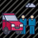 car, carpooling, people, ride, sharing