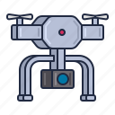 airdrone, camera, copter, drone, hover, power icon