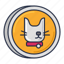 cat, friendly, pet, pet friendly icon
