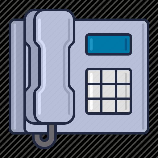 Landline Phone Service >> Coworking Space Metallic Vol 2 By Flat Icons Com