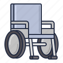 access, accessibility, chair, wheel, wheelchair icon