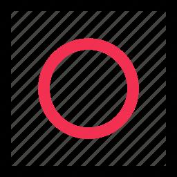 abstract, center, eye, goal icon