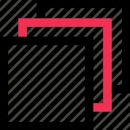 copy, creative, design, paste icon