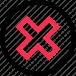 creative, cross, delete, design icon