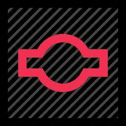 abstract, creative, eye, line icon