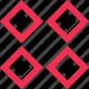 creative, design, four icon