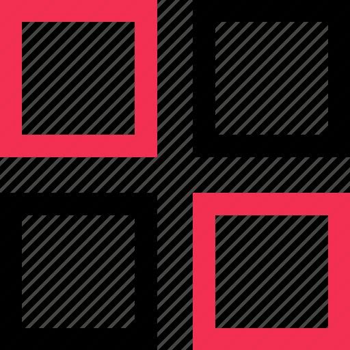 abstract, four, windows icon