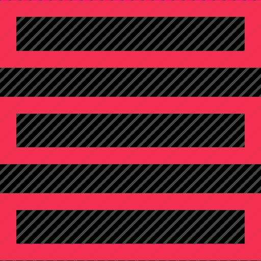 lines, menu, setup icon