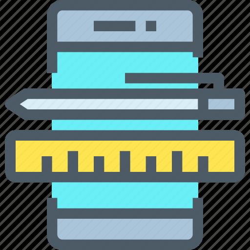 app, art, creative, develop, mobile, ui, ux icon