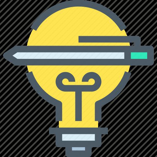 art, creative, design, idea, light, think, thinking icon
