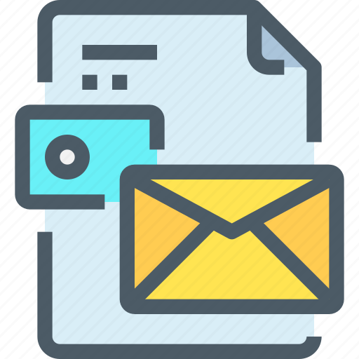 art, brand, branding, business, card, document, mail icon