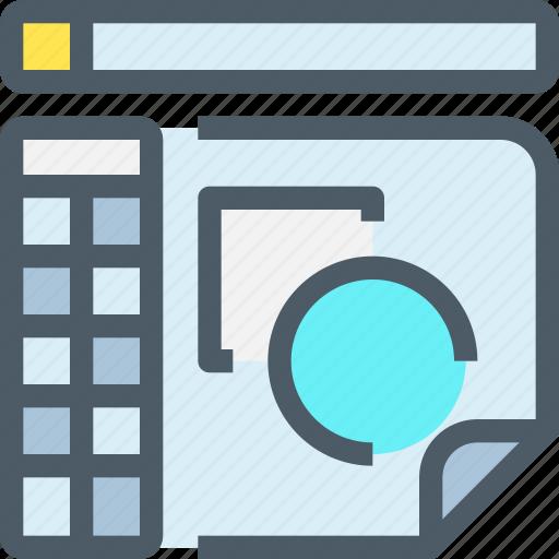 art, creative, design, develop, draw, program, tool icon
