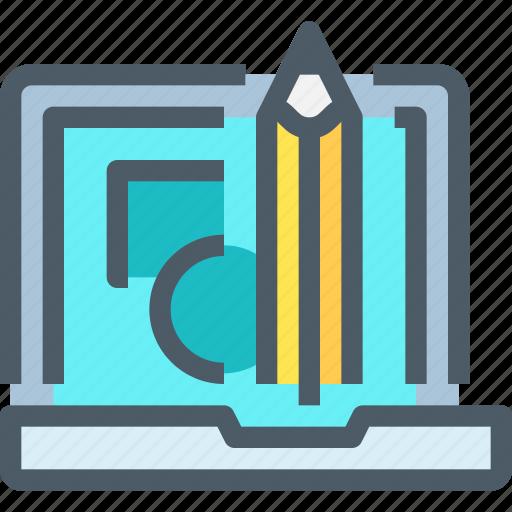 art, computer, creative, digital, graphic, learn, school icon