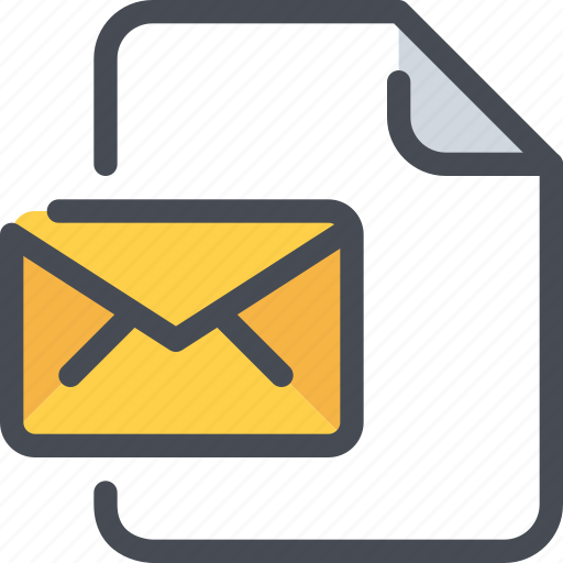 branding, business, document, email, file, mail, message icon
