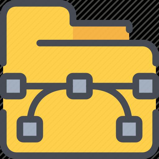 creative, creativity, design, document, file, folder icon