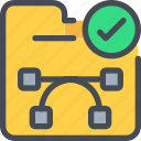 creative, creativity, document, file, folder icon