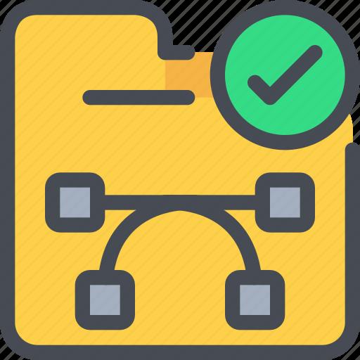 creative, creativity, document, file, folder icon