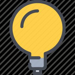 creative, creativity, idea, light icon