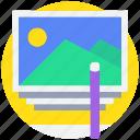 edit, image, photo, photography icon
