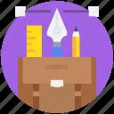 art, creative, design, graphic, pen, tool icon