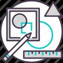 art, design, graphic, paint, tool icon