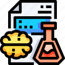education, experiment, laboratory, learning, science, study icon
