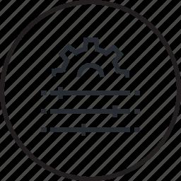 concept, creative, line, modification, setting icon