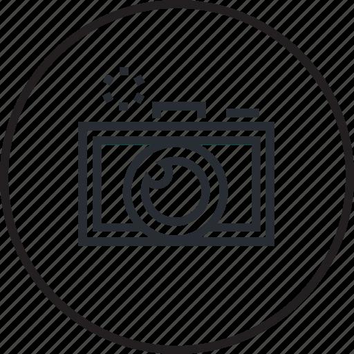 concept, creative, editor, line, photo, photography icon
