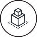 computer, concept, creative, line, modeling, prototype icon