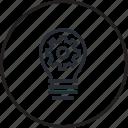 concept, trend, creativity, idea, creative, line, light bulb