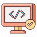 clean code, code, coding, html, programming, software development icon