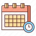 appointment, booking, calendar, deadline, event, schedule icon