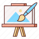 art, canvas, drawing, fine arts, paint, painting icon