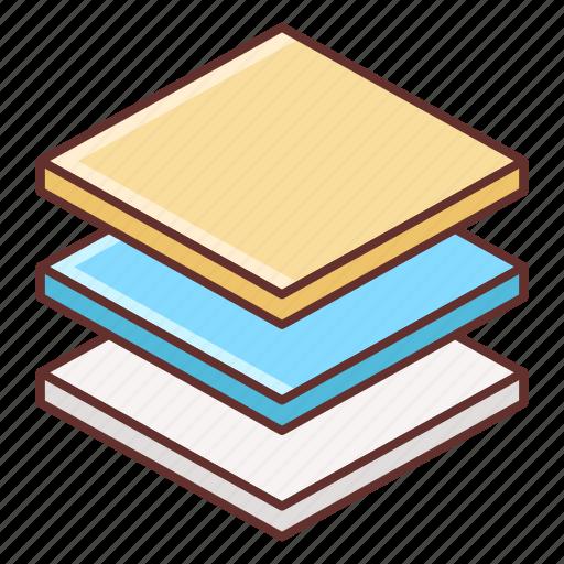 artboard, layer, layers icon
