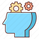 mindset, technical, technical thinking, thinking icon
