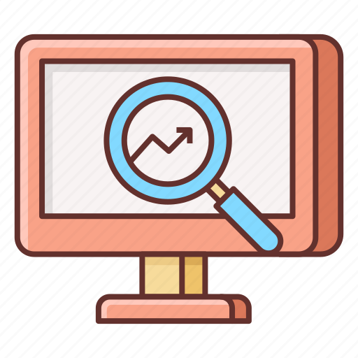 forecast, prediction, research, trend, trending icon