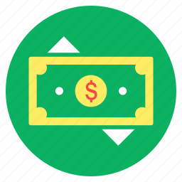 cash, currency, finance, money, money trading, payment icon