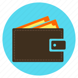 cash, finance, income, purchase, shopping, wallet icon