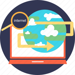 adventure, explore, find, internet, map, outdoor, research icon