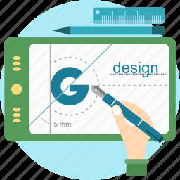 branding, concept, design, geometry, logo, sign icon