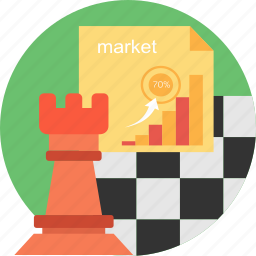 business, connection, management, market, marketing, statistics, strategy icon