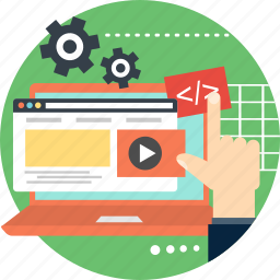 builder, construction, internet, online, page, site, website icon