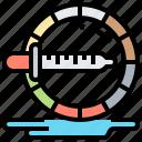 illustration, color, design, wheel, artwork icon