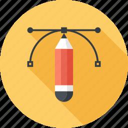 art, creative, design, draw, graphic, illustration, pencil icon