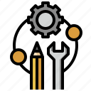 cogwheel, configuration, gear, seo, settings, web icon