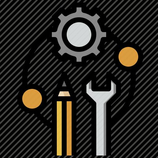 cogwheel, configuration, gear, seo, settings, web icon