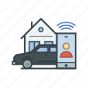 automobile, car, customer, lyft, service, transportation, uber icon