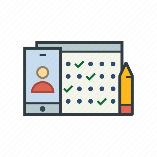 business, calendar, finance, marketing, office, planning, schedule icon