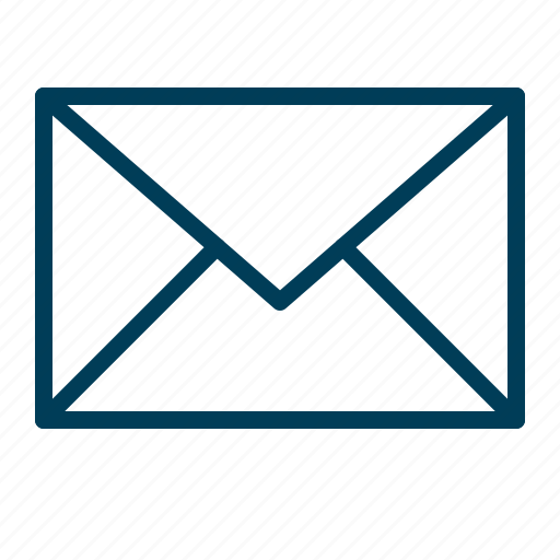 email, envelope, inbox, letter, mail, post icon